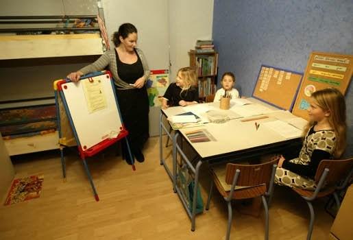 Meer en meer kinderen volgen thuis les
