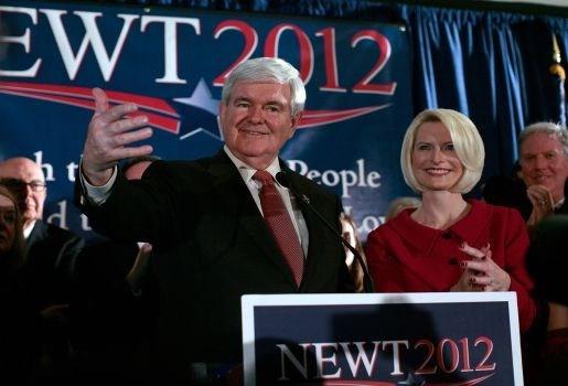 Republikein Gingrich terug in de race na verpletterende zege