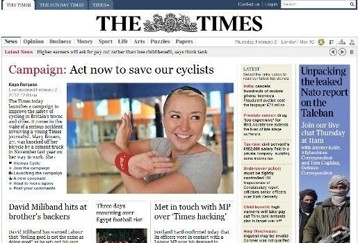 Onderzoek naar afluisterpraktijken bij Britse krant The Times