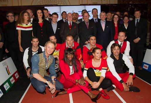 Belgische outfits voor Londen 2012 voorgesteld