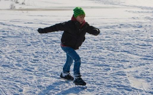 Bijna overal in Zemst verboden te schaatsen