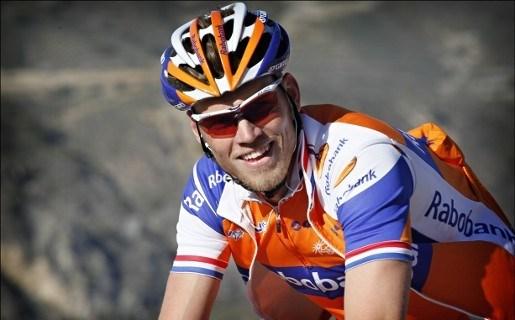 Lars Boom crosst op Cauberg