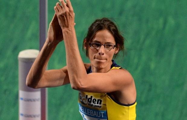 Tia Hellebaut wint eerste wedstrijd sinds comeback