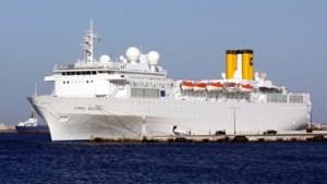 Cruiseschip in de problemen op Indische Oceaan