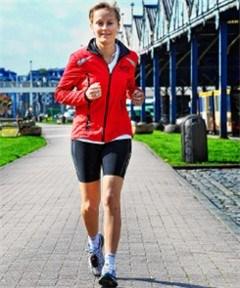 Annick De Ridder prijkt in Runner's World