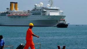 Costa Allegra veilig op de Seychellen