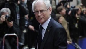 Van Rompuy tot 2014 'Europees president'