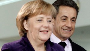 Sarkozy optimistisch, Merkel voorzichtig