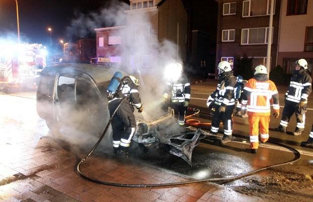 Auto vat vuur