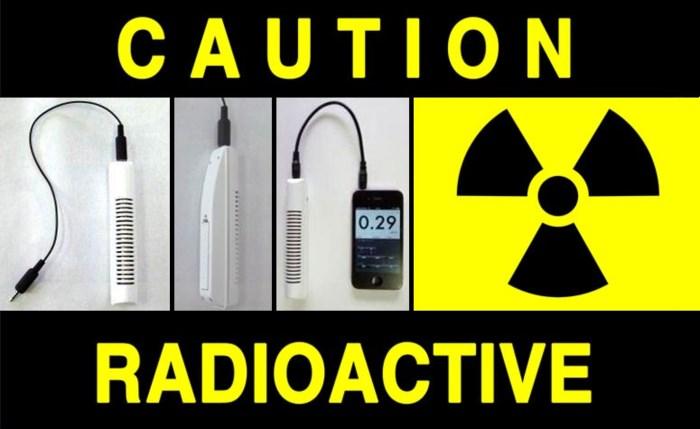 Meet straling met uw iPhone