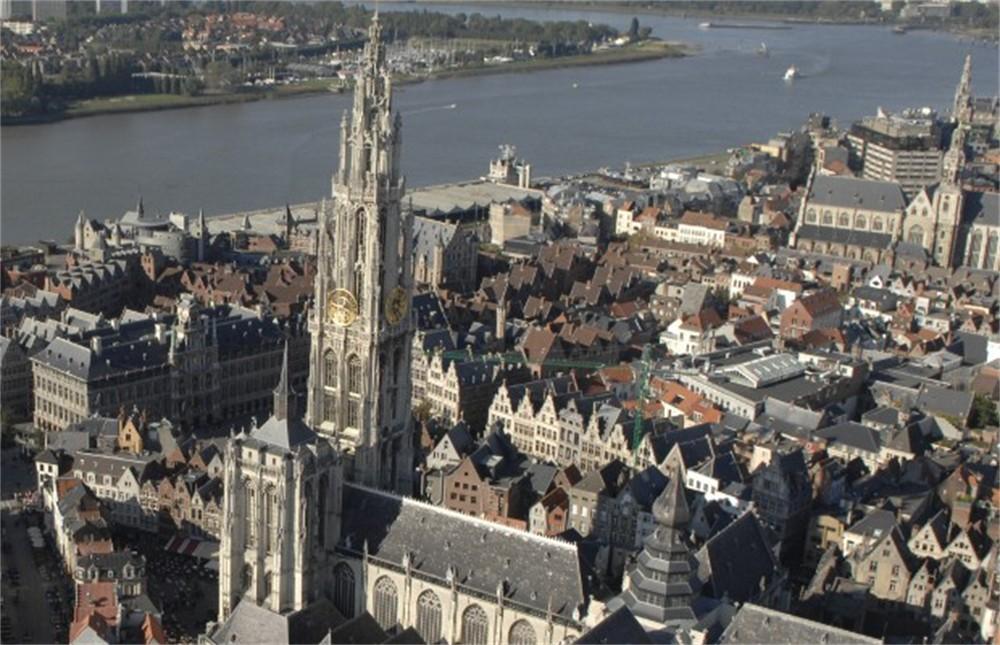Extra gazet van antwerpen - Verblijf kathedraal ...