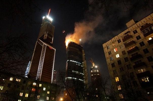 Zeventien doden bij brand in Moskou