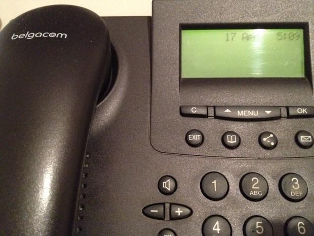 Hombeekse vaste telefoonlijnen van Belgacom laten het afweten