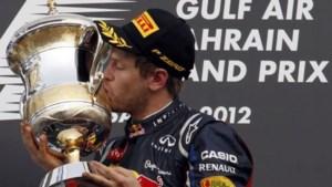 Vettel wint F1-race Bahrein en pakt WK-leiding