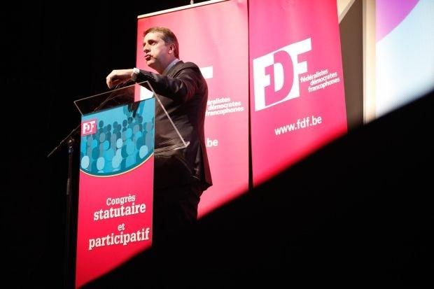 """Maingain: """"Heb genoeg van Vlaamse politici in Brussel'"""