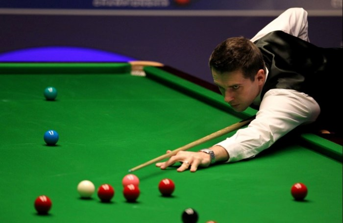 's Werelds nummer een Mark Selby verlaat WK snooker
