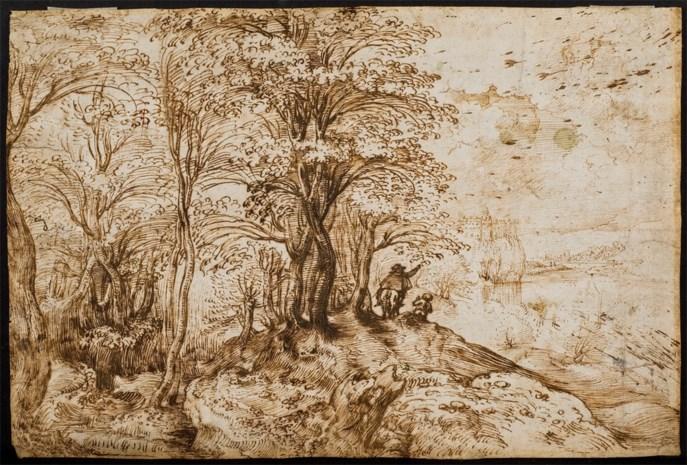 Landschapstekening Pieter Bruegel de Oude ontdekt