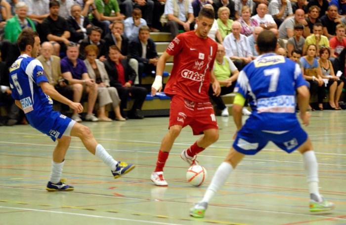 Aziz Hitou (FT Antwerpen) wint Gouden Schoen zaalvoetbal