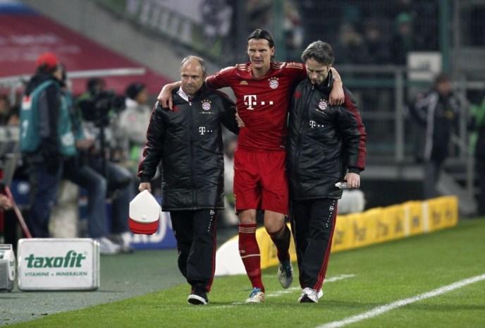 Daniel Van Buyten opnieuw op het veld na blessure