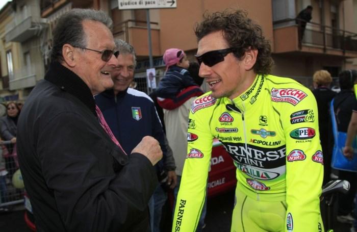 Filippo Pozzato out met polsbreuk