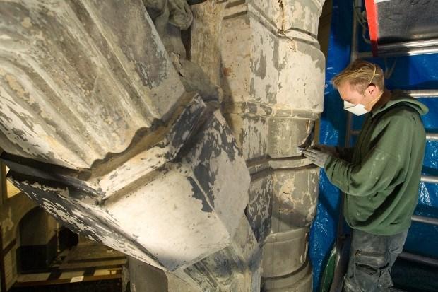 Vijf jaar restaureren in basiliek (foto's)