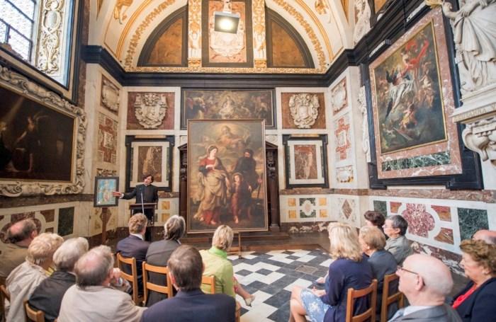 Schilderij Rubens opnieuw in Carolus Borromeuskerk