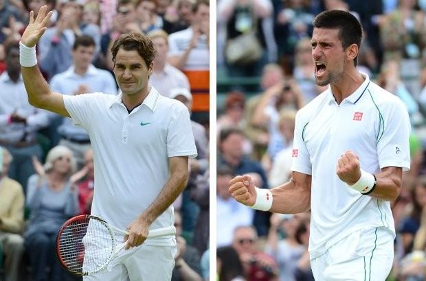 Djokovic tegen Federer in halve finale Wimbledon