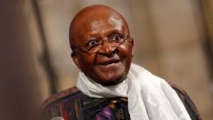 Zuid-Afrikaanse aartsbisschop Desmond Tutu in Zuid-Soedan