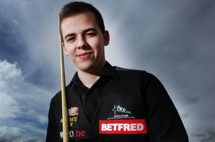 Luca Brecel ronde verder op 1ste UK Players Tour Championship