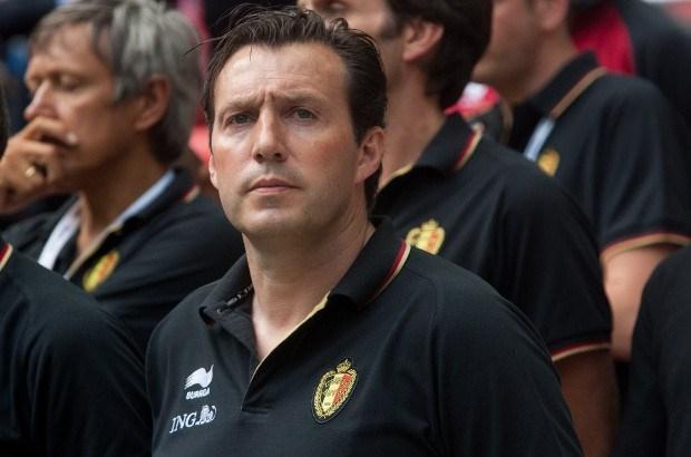 Marc Wilmots coacht jeugd van Wezet