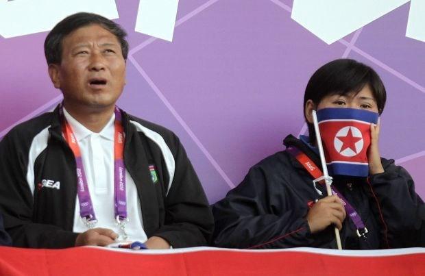 Koreaanse vlaggenwissel zorgt voor eerste rel op Olympische Spelen