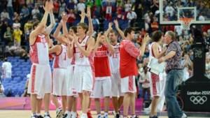 Russisch basketteam naar 1/2e finales