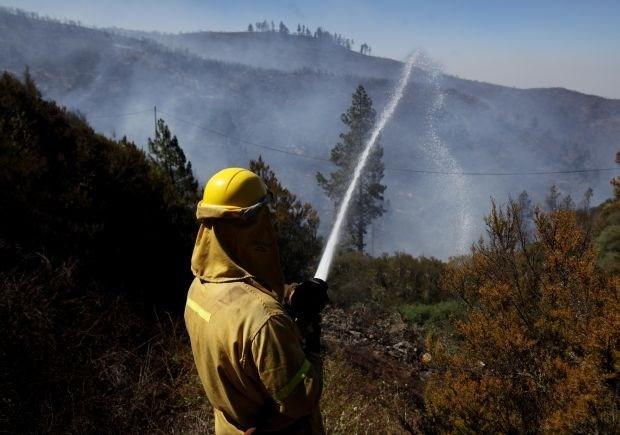 Bosbranden blijven Zuid-Europa teisteren