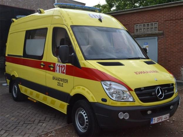 Nieuwe ambulance voor brandweer Zele