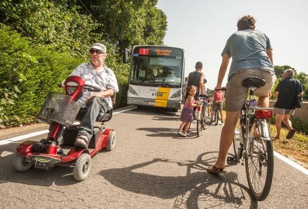 Burgemeester wil ander traject pendelbus