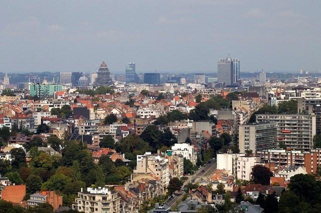 170 vaandeldragers defileren voor vijfde jaar op rij in Brussel