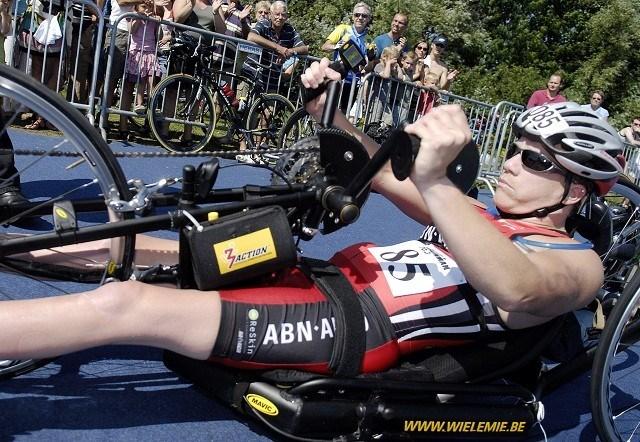 Marieke Vervoort bezorgt België eerste medaille op Paralympics