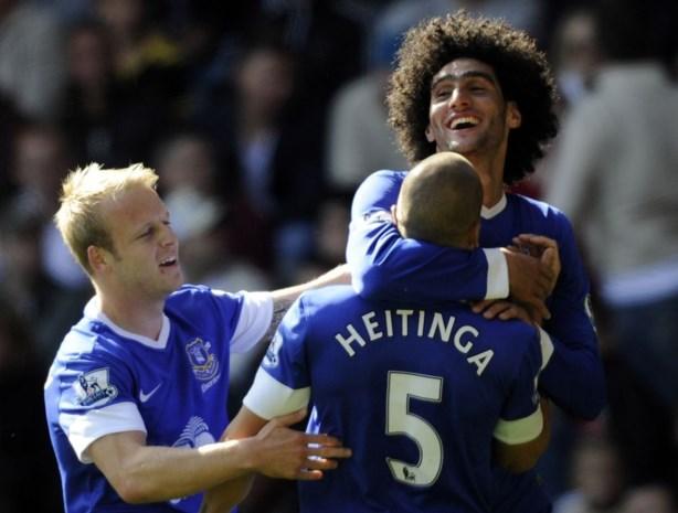 Fellaini en Mirallas scoren voor Everton