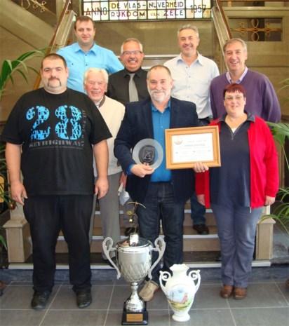 Patrick Wauters Europees Kampioen handboogschieten