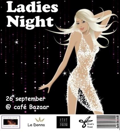 Ladies Night in café Bazaar