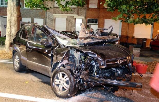 Chauffeur verongelukt op weg naar huis