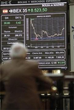 Spaanse rente boven 6 procent, beurs verliest fors