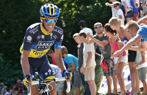 Alberto Contador beste in Milaan-Turijn