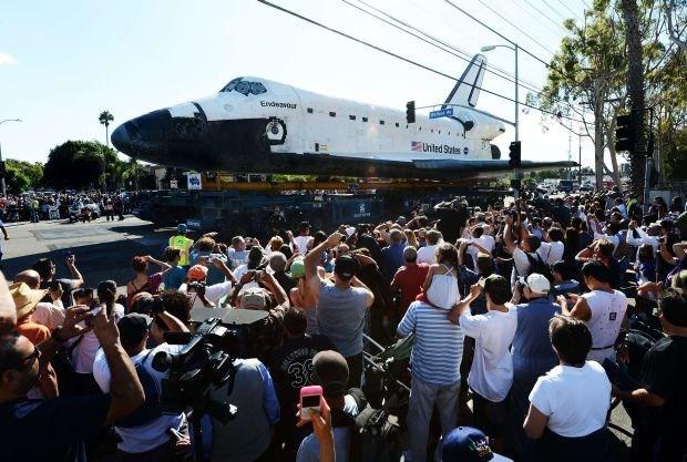 Vlaams bedrijf verzorgt laatste reis spaceshuttle Endeavour