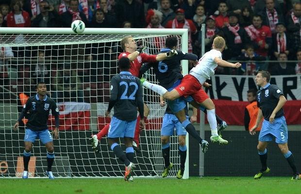 Engeland niet verder dan gelijkspel tegen Polen