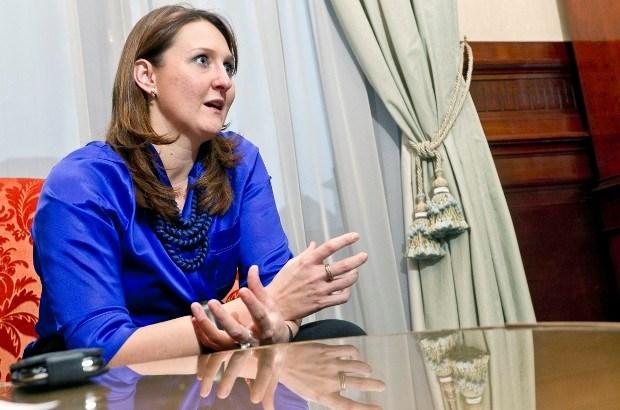 Gwendolyn Rutten is kandidaat-voorzitter van Open Vld