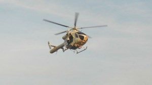 Politiehelikopter en honden ingezet om dief uit bos in Aalst te halen