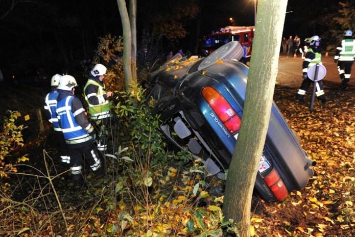 Twee gewonden bij ongeval op Rijkevorselseweg