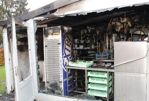 Door brand geteisterd café krijgt ook inbrekers over vloer
