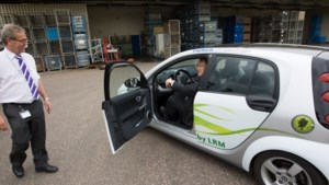 Infrax neemt tien elektrische wagens in gebruik